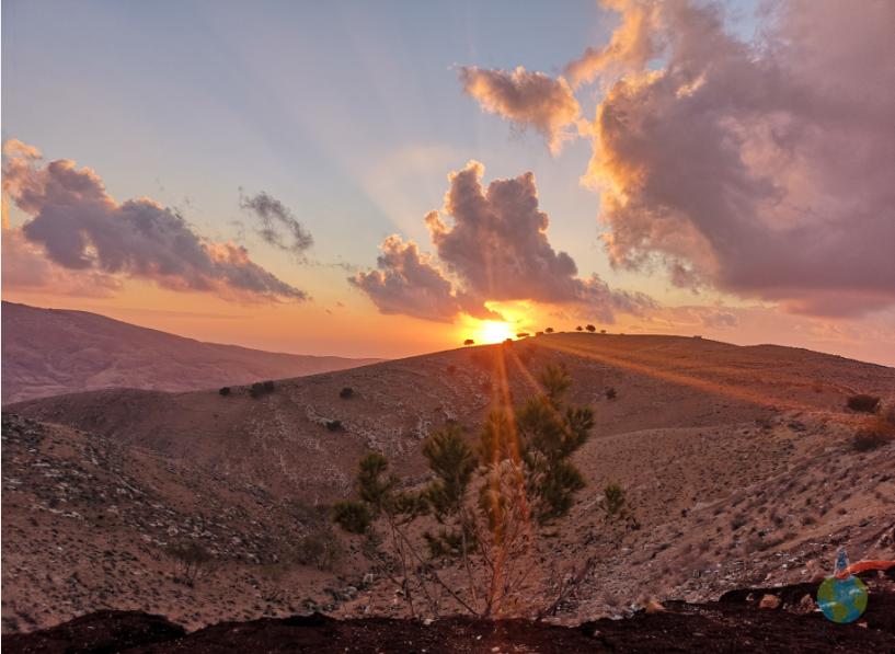 Mount Nebo Apus Iordania