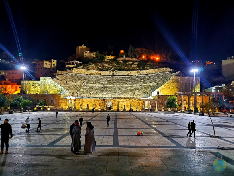Amman Iordania Amfiteatru