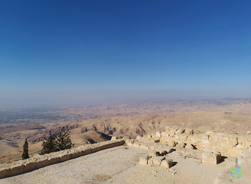 Valea Iordanului văzută de pe Mount Nebo