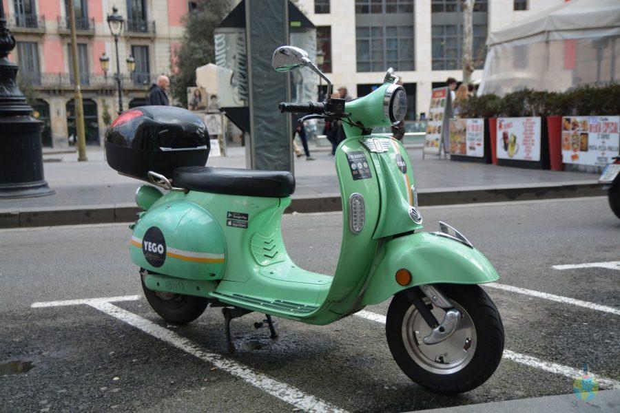 Barcelona Yego scuter transport