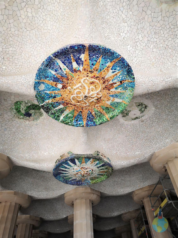 Barcelona Parc Guell Gaudi masterpiece plimbare relaxare arhitectura inovatie