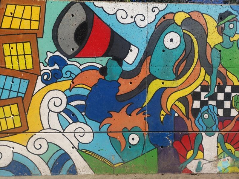Barcelona, Arta stradală artisti picturi personaje tablouri flammenco pictor