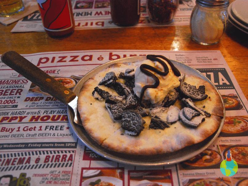 Pizza Oreo