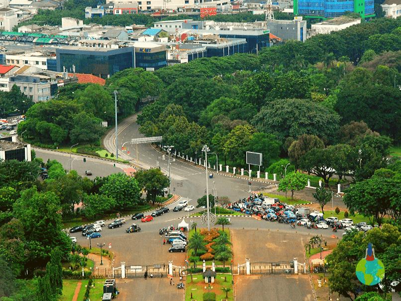 Panorama din Monas Tower