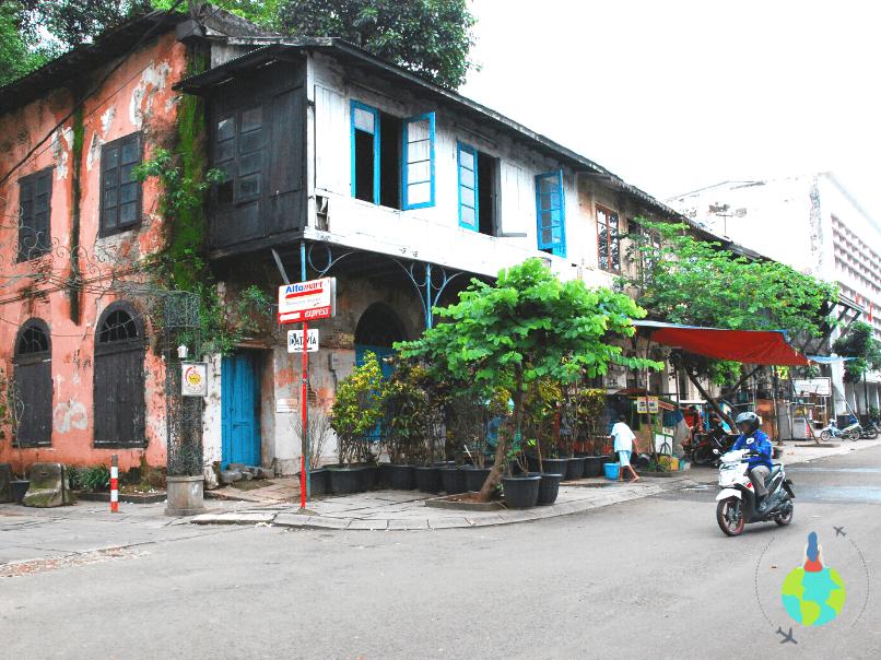 Jakarta - Stradă din zona portului