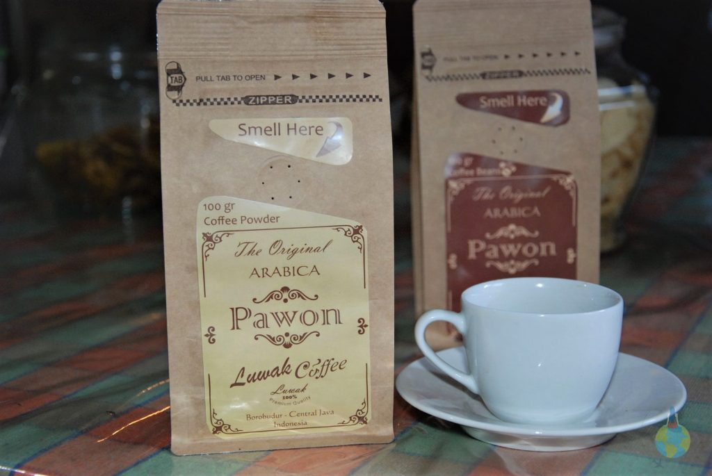 Yogyakarta, Indonezia, Cafea Kopi Luak