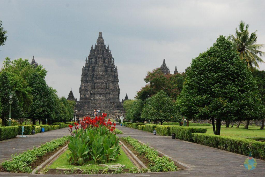 Prambanan, Borobudur, templu