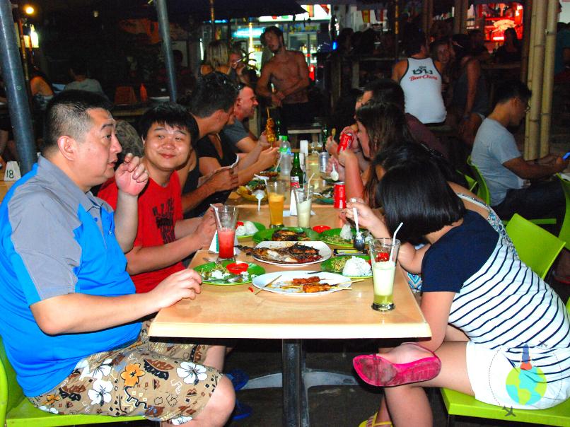 piata, mancare, indoneziana Gili Trawangan