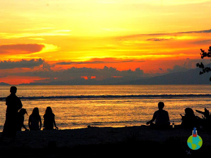 Apus Sunset Beach Gili Trawangan