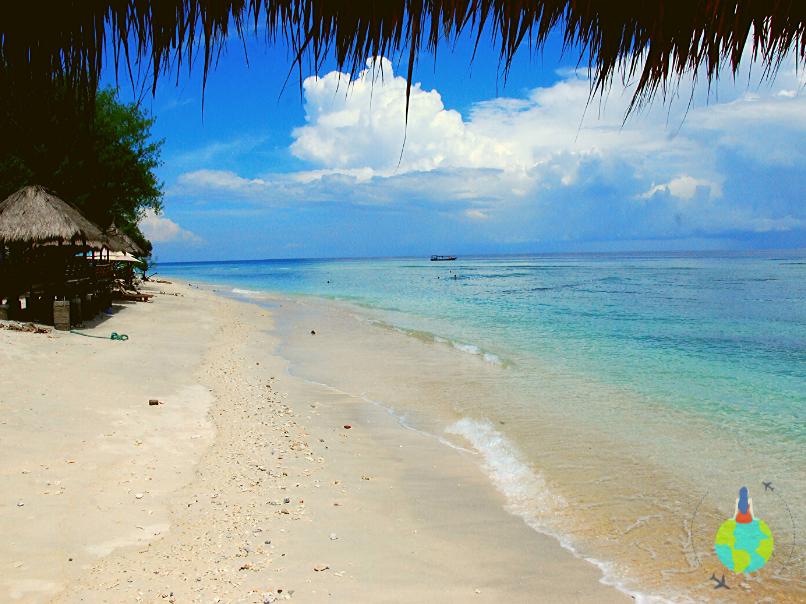 Plaja din Gili Trawangan