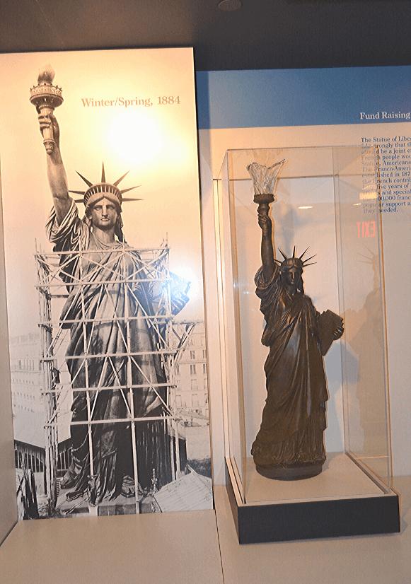 Imagini din Muzeul Statuii Libertății