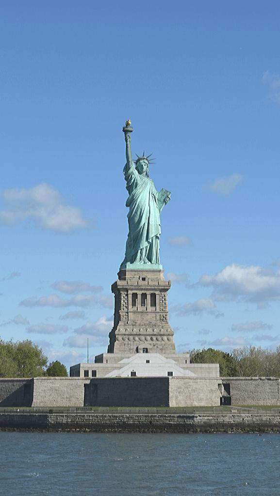 Statuia Libertății văzută de pe ferry 2