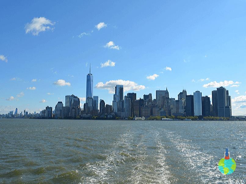Manhattan văzut de pe ferry 2