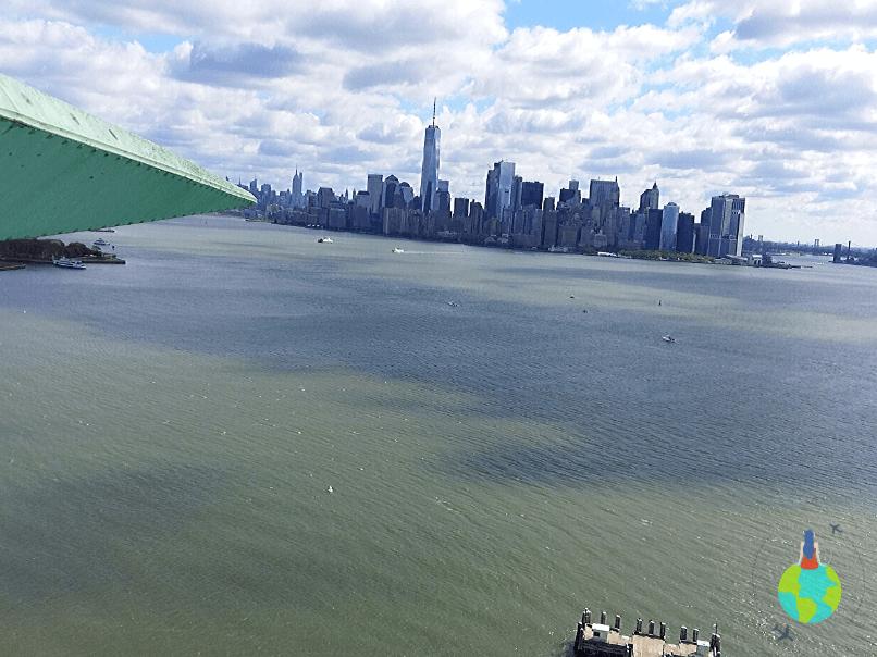 Manhattan văzut Coroana Statuii Libertății 1