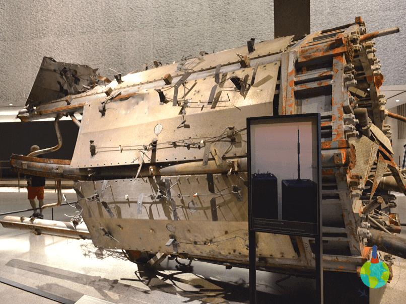 9/11 Memorial - structură metalică a turnului
