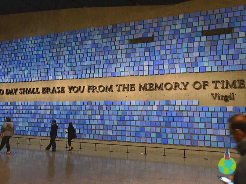 9/11 Memorial - sala principală