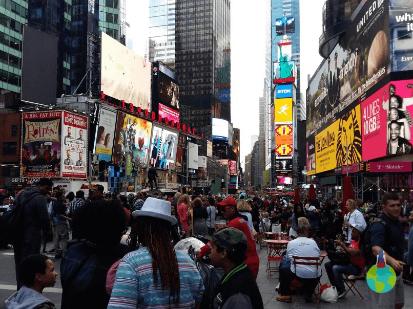 Ziua în Time Square