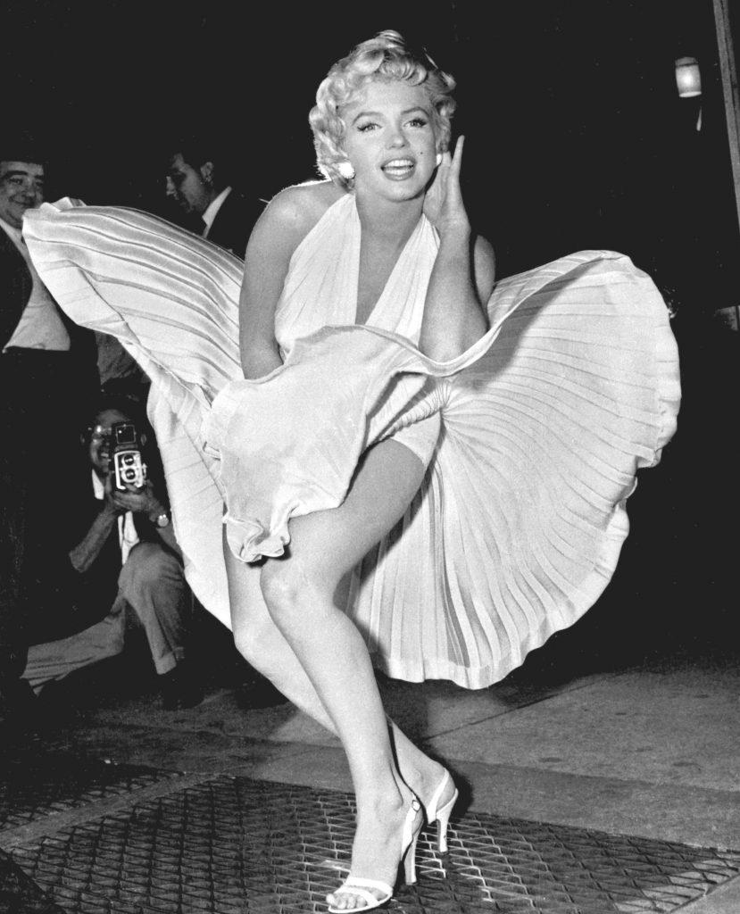 Marilyn Monroe la New York