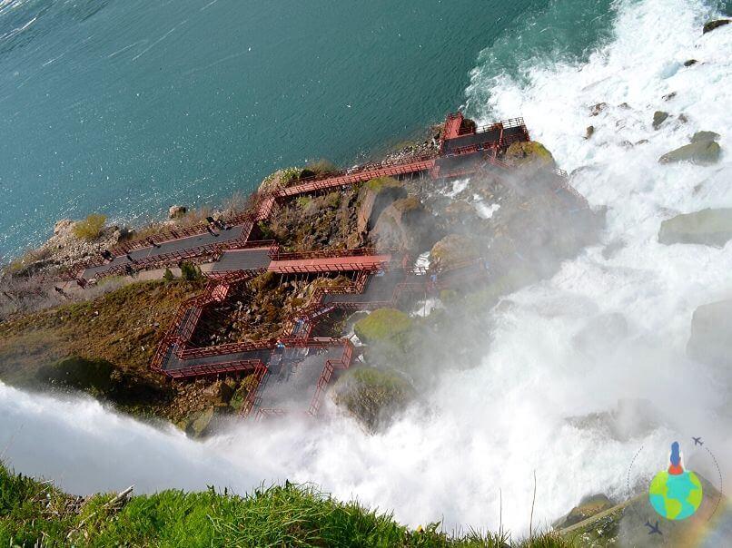 Niagara - Cave of the Winds văzută de la Observation Tower