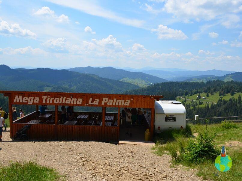 Mega - Tiroliana de la Palma