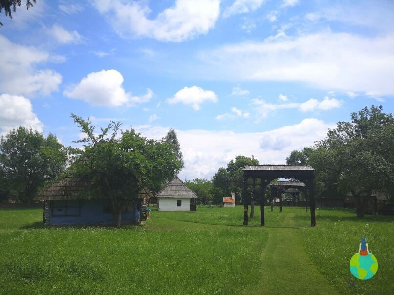Muzeul în aer liber - porțile secuiești