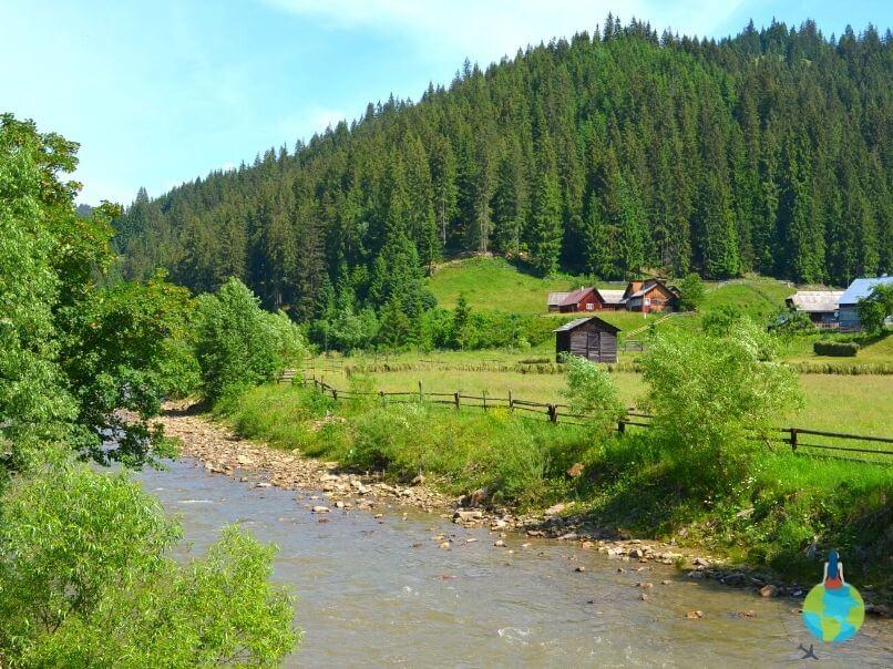 Mocănița Huțulca - Traseu