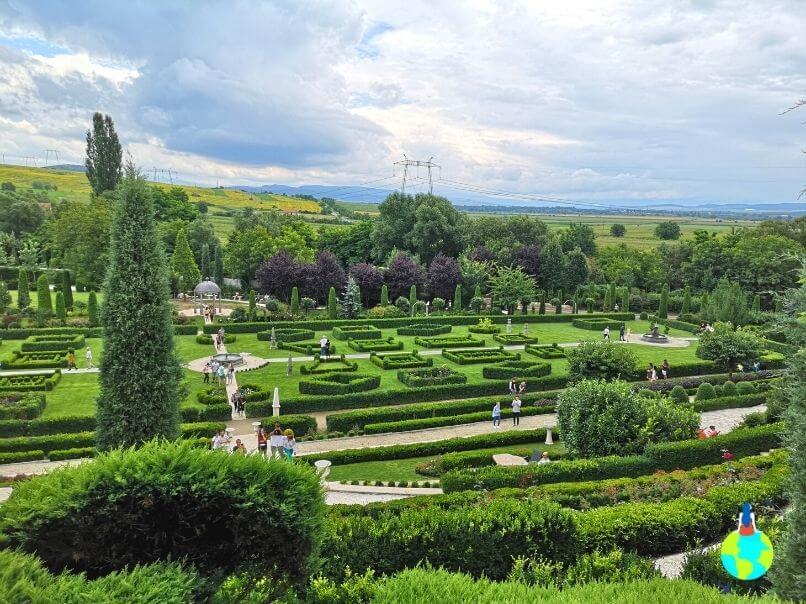 I Giardini di Zoe văzute de sus
