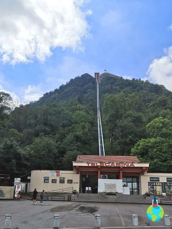 Ce să faci 2 zile la Deva - Cetatea Devei Funicularul