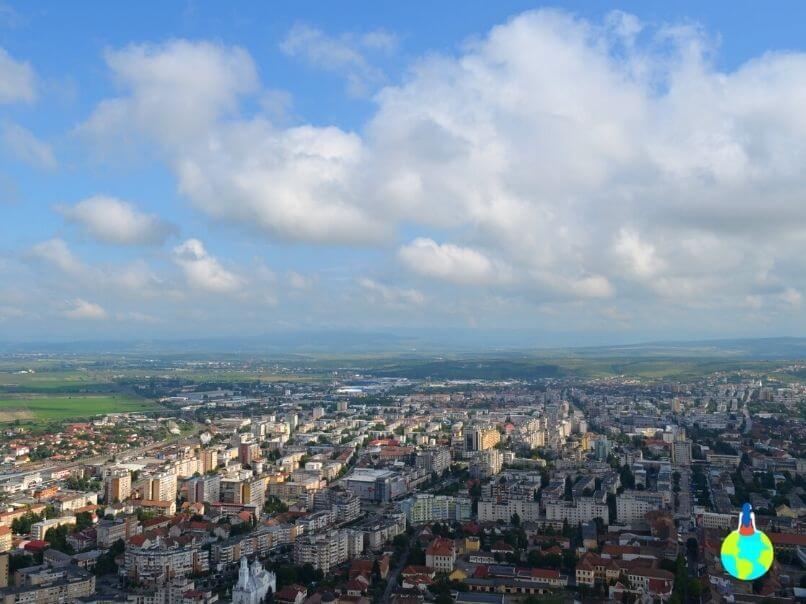 Priveliște de la Cetatea Deva