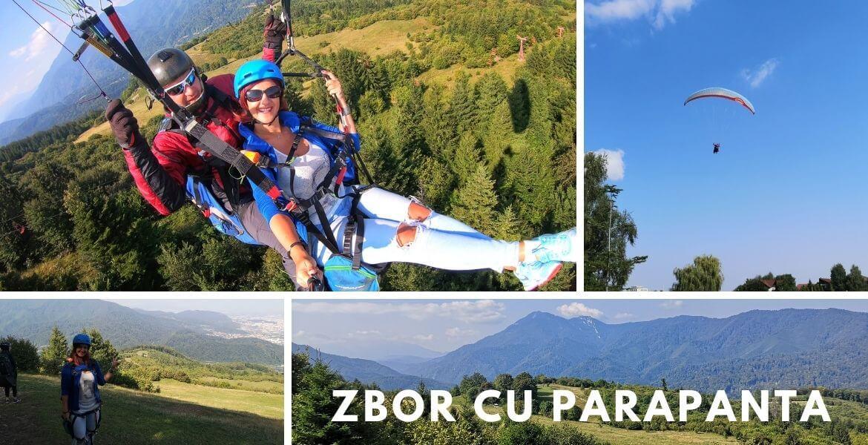Cover zborul cu parapanta Brașov