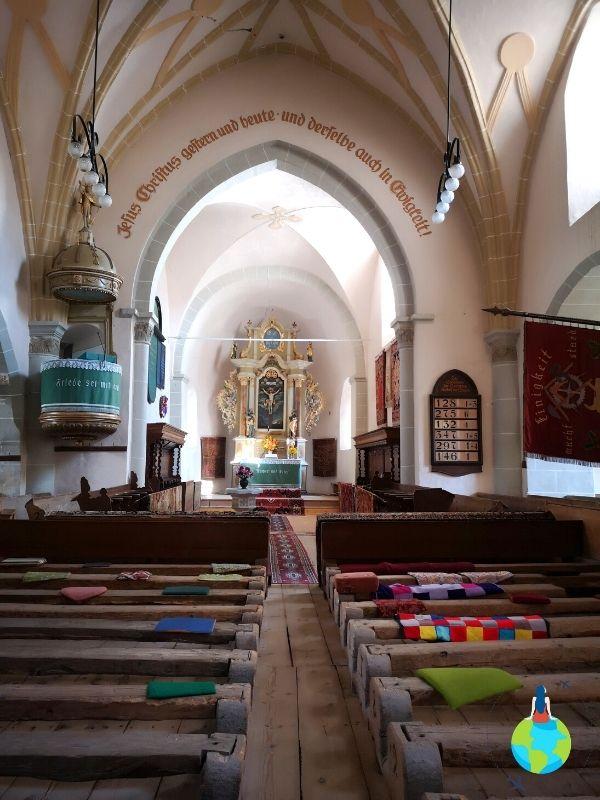 Biserica din Cetatea Hărman