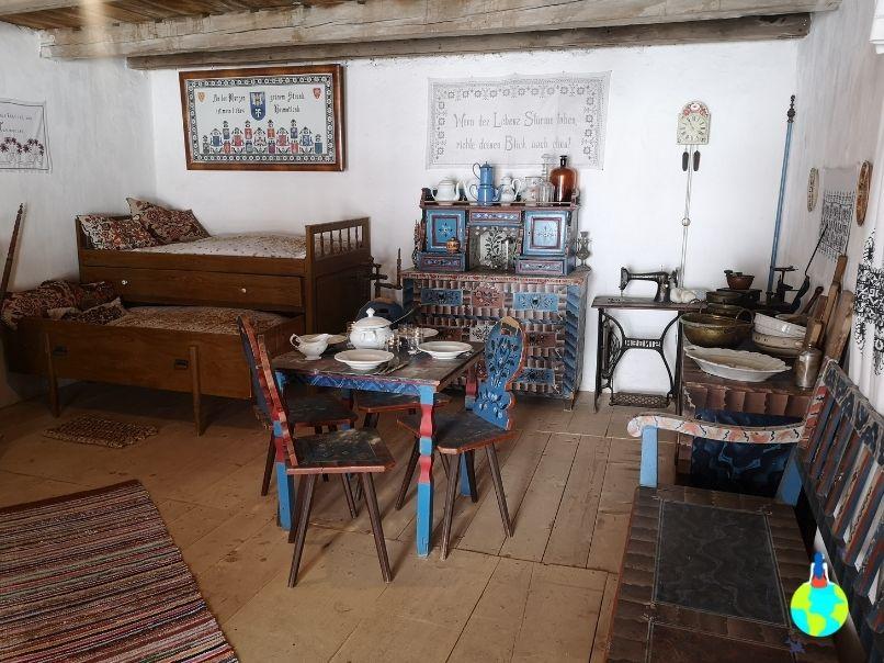 Cameră din Cetatea Hărman