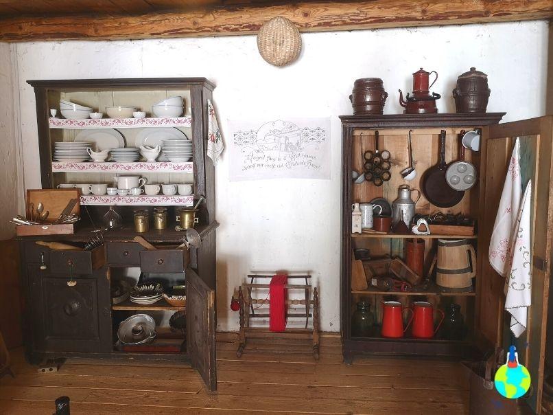 Bucătărie din Cetatea Hărman