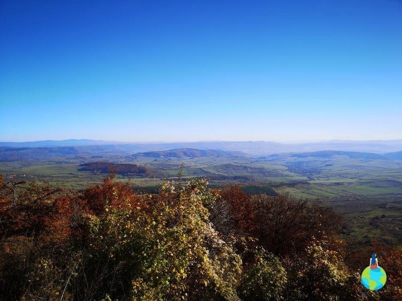 Priveliștea de pe muntele Gordon
