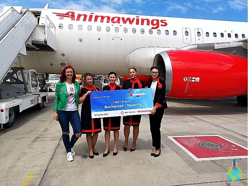 Primul Charter Spre Tenerife Animawings și Christian Tour.