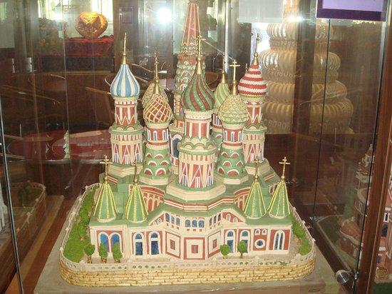 Catedrala din Sankt Petersburg făcută din marțipan