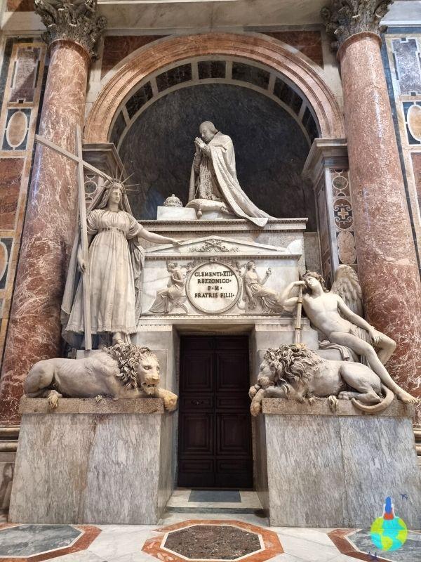 Mormântul unui Papă